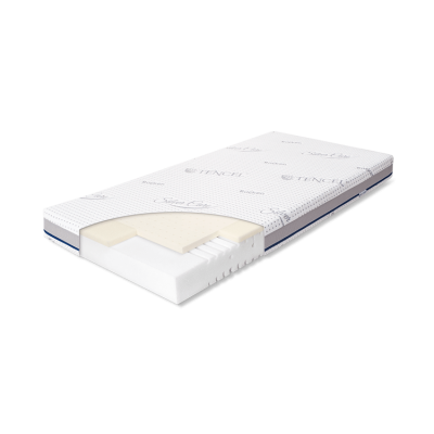 Детские матрасы и подушки  Rucken матрас латекс/пена 120x60 sm