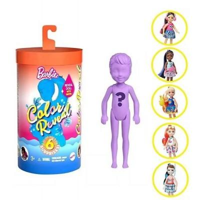 Nukud  Barbie Chelsea Color Reveal Surprise