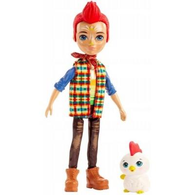 Nukud  Mattel Enchantimals Redward Rooster + Cluck