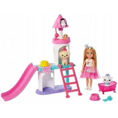 Nukud  Mattel Barbie Chelsea + aksessuaarid