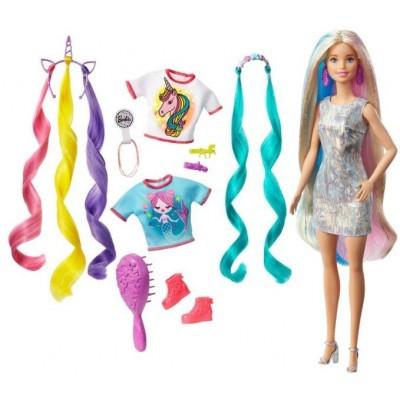 Куклы и аксессуары для кукол  Mattel Barbie Fantasy Hair Doll