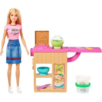 Куклы  Barbie You Can Be Anything Noodle Maker