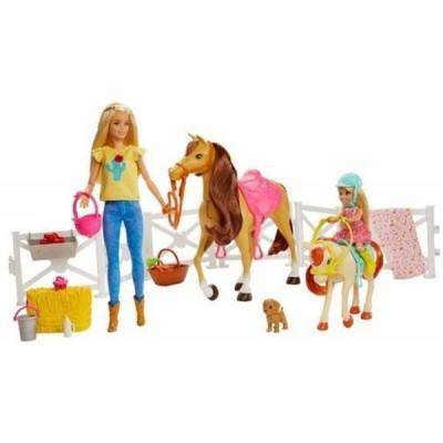 Nukud ja nuku aksessuaarid  Mattel Barbie Hugs N`Horses