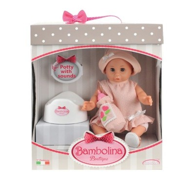 Nukud  Smily Play Bambolina Boutique with potty nukk