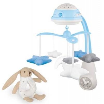 Игрушки для малышей  Canpol Babies карусель+Soft Bunny