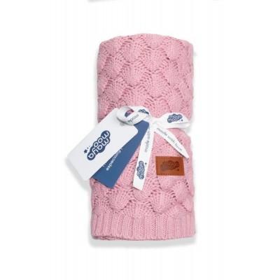 Одеяла и пеленки  Detexpol вязаное одеяло Maya Moo 180x10см
