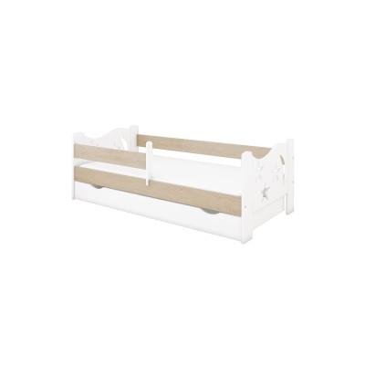 Üheinimesevoodid  Pinewood Kamil voodi kastiga 140x70