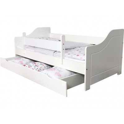 Üheinimesevoodid  Pinewood Lili voodi kastiga 140x80