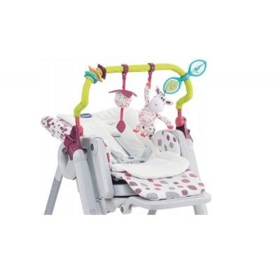 Söögitool  Chicco Polly Progress kaar mänguasjadega ja beebisisu