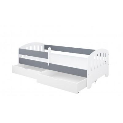 Üheinimesevoodid  Pinewood CLASSIC voodi kahe kastiga 140x80