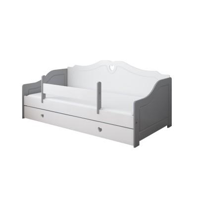 Üheinimesevoodid  Pinewood Zuzia voodi kastiga 140x80