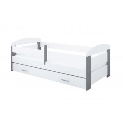 Üheinimesevoodid  Pinewood Kasia voodi kastiga 160x70
