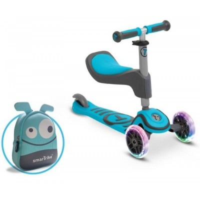 Tõukerattad  Smart Trike T1 LED + kott