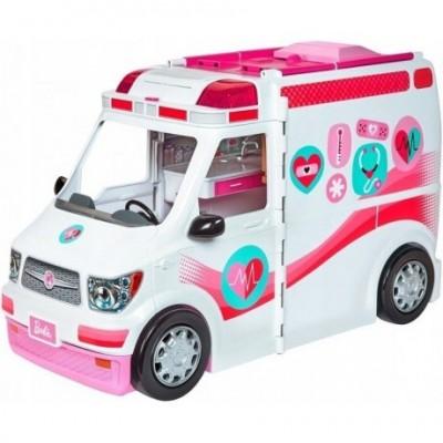 Teised  Mattel Barbie kiirabi valguse ja heliga FRM19