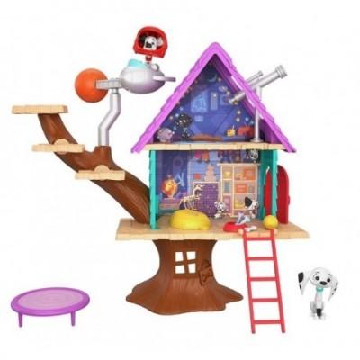 Loomingulised  Mattel 101 Dalmatians Tree House GDL88