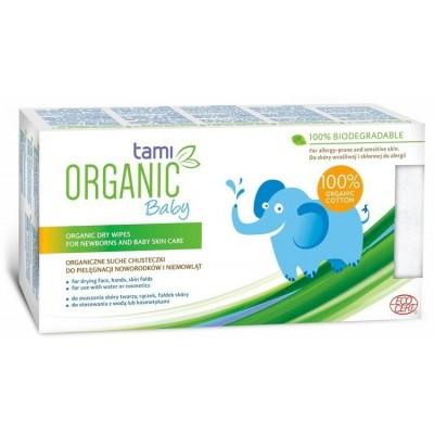 Niisked salvrätikud  Tami Organic Baby Niisked salvrätikud