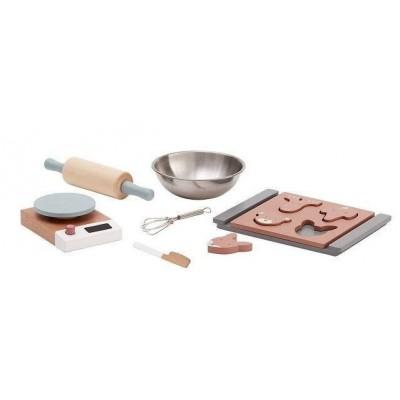 Loomingulised  Kids Concept puidust küpsetamise komplekt