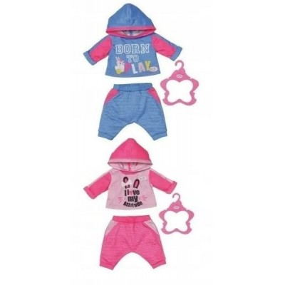 Kaupluses kohal  Baby Born spordi kostüüm nukule 43cm
