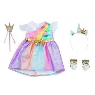 Nuku riided  Baby Born Deluxe kleit nukule