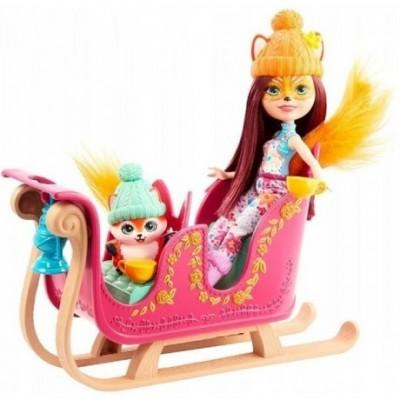 Teised  Barbie Enchantimals Barbie Enchantimals Doll + Accy Fox