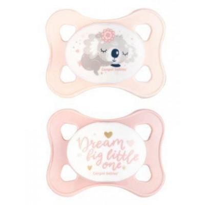 Kaupluses kohal  Canpol Babies lutt 0-2 kuud 2 tk. 23/910 Roosa