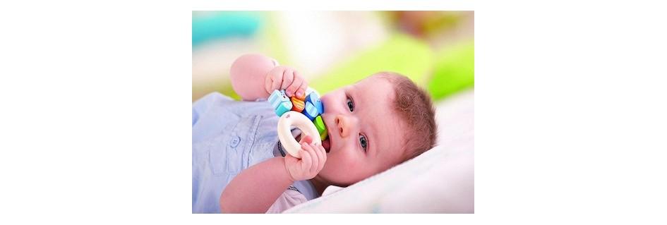Kõristid, närimislelud imikute mänguasjad